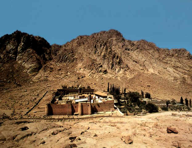 Where Is Mount Sinai >> The Traditional Mt Sinai Wyatt Archaeological Research